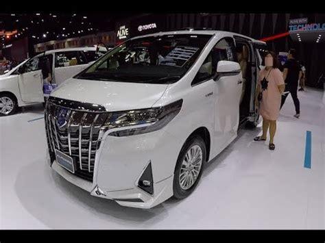 luxury van  toyota alphard hybrid  youtube