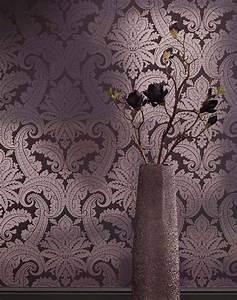 Tapete Ornamente Silber : tapete nemesis schwarzgrau silber glanz tapeten der 70er ~ Sanjose-hotels-ca.com Haus und Dekorationen