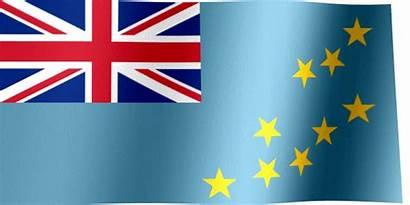 Flag Tuvalu Waving Flags Animated