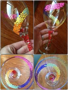 bridesmaid wine glasses the 25 best glass painting designs ideas on glass paint wine glasses diy