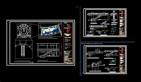 ladder electric project  autocad  cad