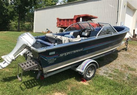Sportsman Boats History by 1988 Blue Fin Boats 1950 Sportsman For Sale In