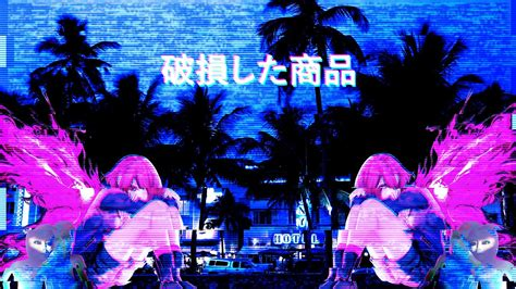 aesthetic boy anime vhs wallpapers