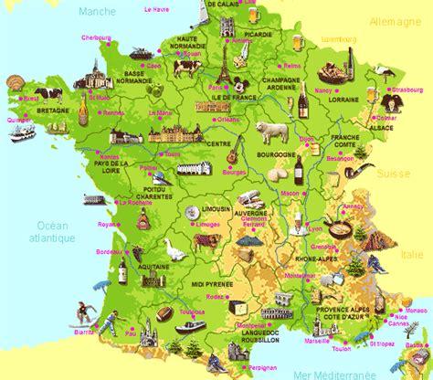 Carte De Avec Principales Villes A Imprimer by Carte De Des Villes Touristiques