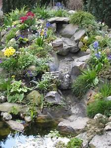 Bachlauf Im Garten : bachlauf garten wasserfall kunstrasen garten ~ Michelbontemps.com Haus und Dekorationen