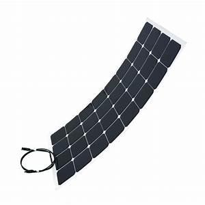 Panneau Solaire 100w : panneau solaire flexible 100w camping car caravane ~ Nature-et-papiers.com Idées de Décoration
