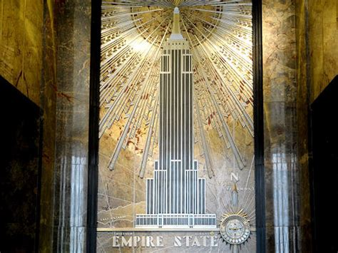 empire state buildings iconic art deco style  views remain unchanged  opening
