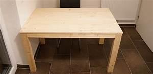 Tisch Bauen Anleitung WH06 Kyushucon