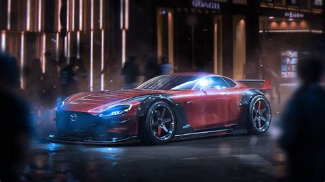 Mazda's New Rotary-engined Sports Car (concept)