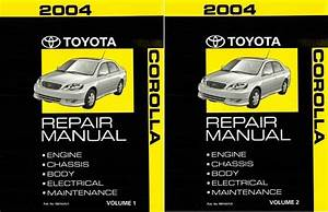 1995 Toyota Corolla Service Repair Shop Set Oem Service And The Electrical Wiring Diagrams