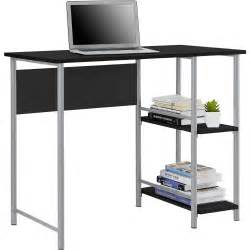 mainstays basic student desk features side shelving