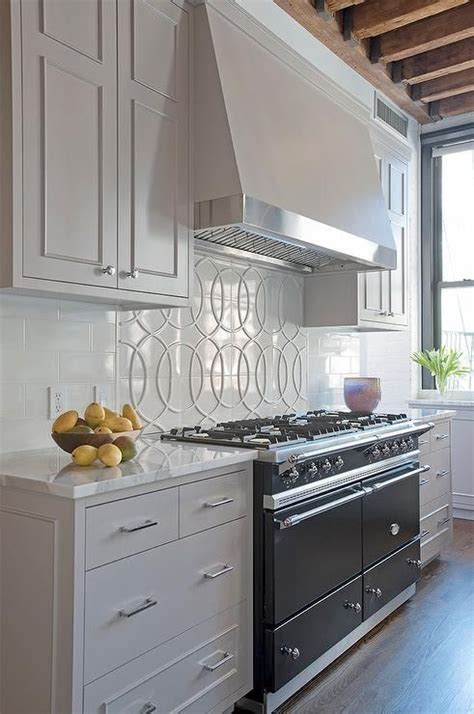 stove backsplash ideas  pinterest kitchen backsplash tile  kitchen hood works