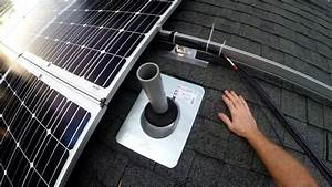 Off Grid Solar  34  Wiring Solar Panels To Combiner Boxes