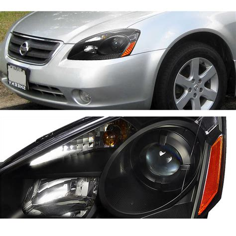 altima nissan 2005 headlights 2006 hid projector depo replacement xenon euro kit