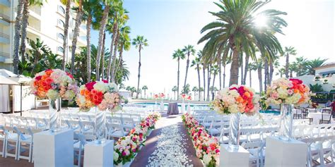 waterfront beach resort  hilton hotel weddings