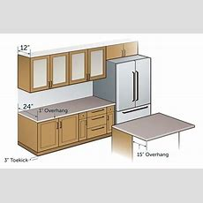 What Is A Standard Kitchen Counter Depth?  Quora