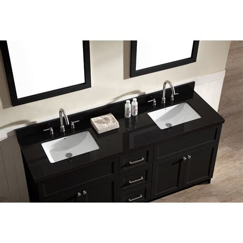 ace 73 inch transitional sink bathroom vanity set