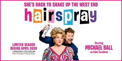 michael ball reprise role hairspray official london theatre
