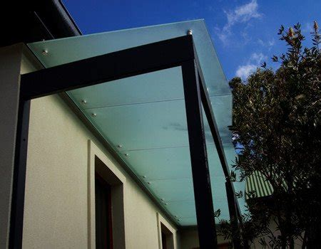glass canopyglass awning demax arch