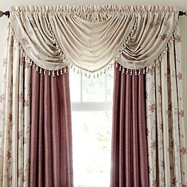 jc penneys drapes fortune embroidered window treatment jcpenney window