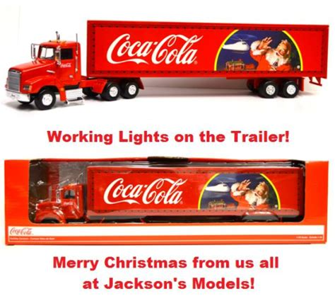 richmond toys us style light up coca cola truck