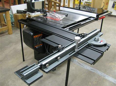 table saw stops dog sawstop sliding crosscut table plane talk