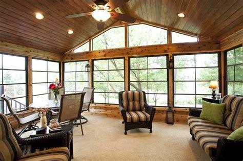 season carpeted cedar porch  ez screen windows woodbury mn decksporches