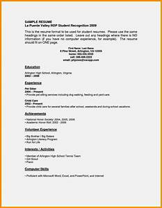 how to write a cv for a job with no experience resume With how to write a cv pdf