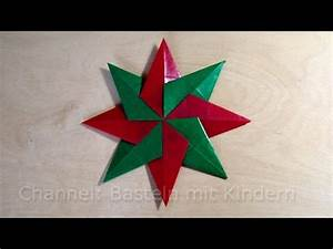 Sterne Weihnachten Basteln : weihnachtssterne basteln einfachen stern f r weihnachten basteln mit kindern fenstersterne ~ Eleganceandgraceweddings.com Haus und Dekorationen