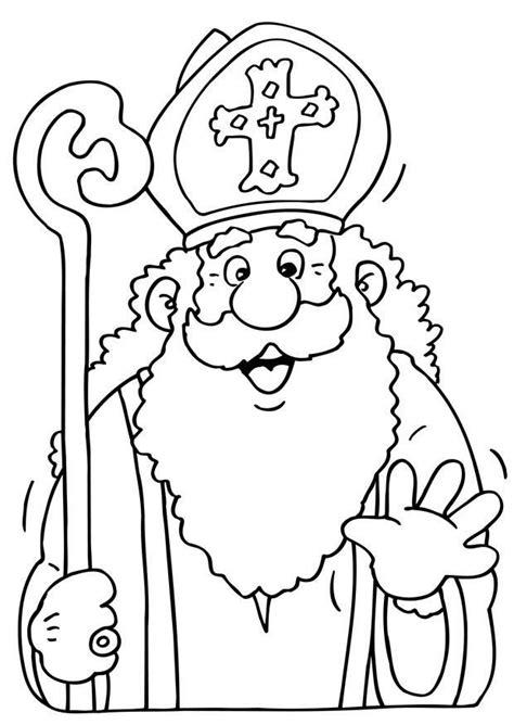 Afbeelding Sint Maarten Kleurplaat Eenvoudig by Kleurplaat Sinterklaas Afb 8670