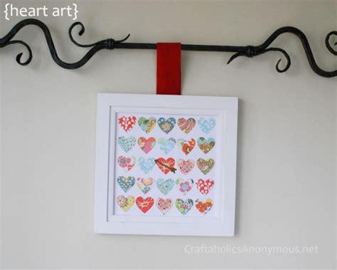 30 Wall Decor Ideas For Your Home: 30 Loving DIY Valentine's Day Wall Art Ideas
