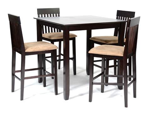 ensemble table et chaises de cuisine ensemble table haute 4 chaises hautes wengué et beige