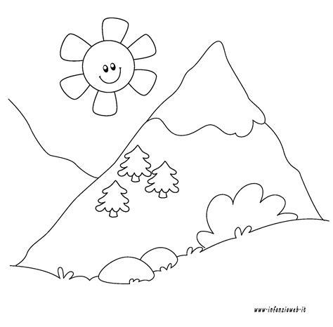 disegni da colorare paesaggio di mare paesaggi disegni facili