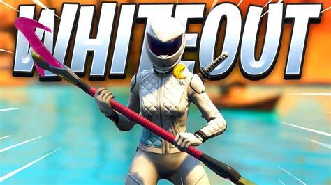 fortnite whiteout skin gameplay youtube