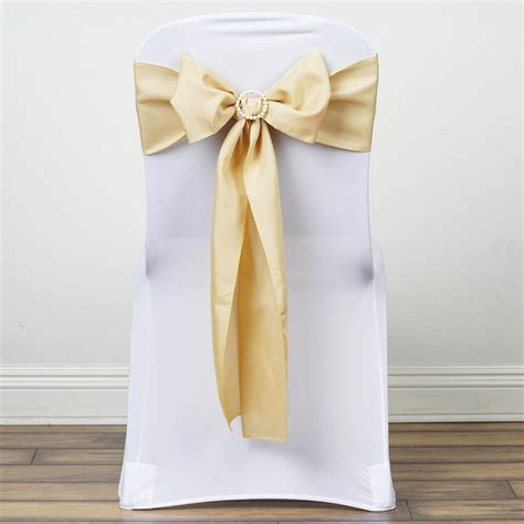 100 polyester chair sashes ties bows wedding