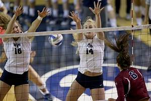 Photos: Cougars hold off Loyola Marymount in five sets ...