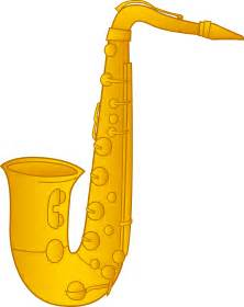 Saxophone Clip Art Free