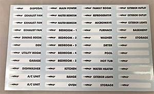 Compare Price To Electrical Decals