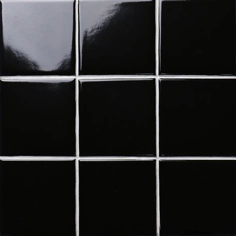 black shiny porcelain tile non slip tile washroom wall tiles shower tile kitchen wall