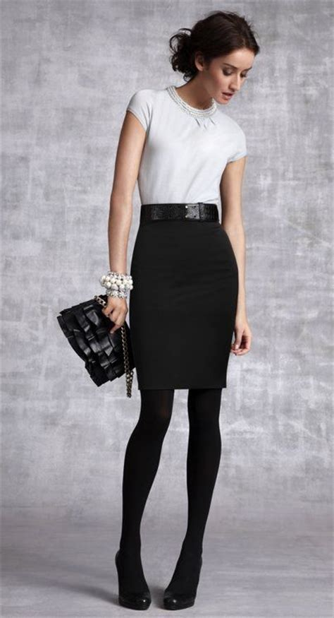Must experiment with black tights this winter. | My Style | Pinterest | Skirts Offices and ...