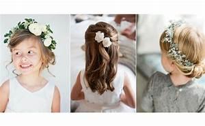 coiffure pour bapteme awesome retour au d but coiffure With chambre bébé design avec fleur couronne