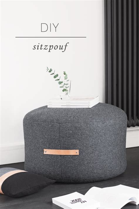 Diy Ottoman Pouf by 32 Fabulous Diy Poufs Your Living Room Needs Right Now