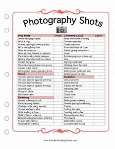 photography shots With wedding photography list pdf