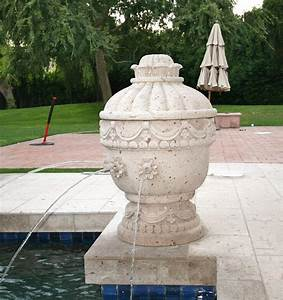 Old, World, Urn, Water, Feature