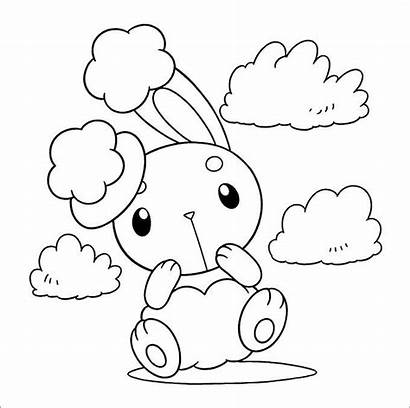Pokemon Coloring Pages Templates Template Printable Colouring