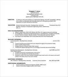 entry level hvac resume objective sle resume template 53 in psd pdf word