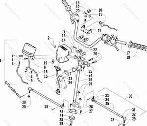 Arctic Cat Atv 2004 Oem Parts Diagram For Steering