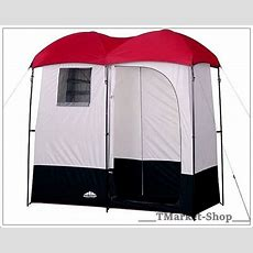 Double Camping Shower Room Changing Shelter Privacy