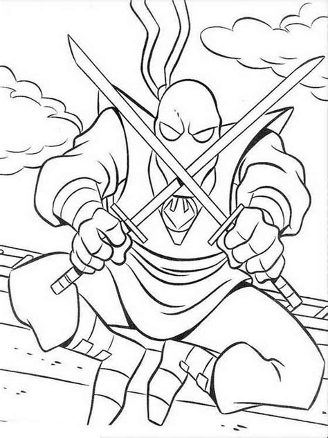 mutant ninja turtles coloring pages   print