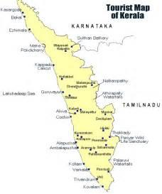 kerala map,kerala tourist map,kerala district map